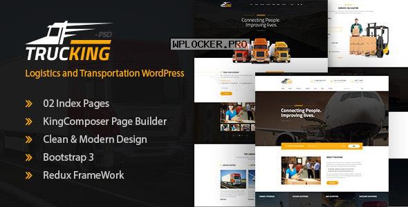 Trucking v1.18 – Logistics and Transportation Theme
