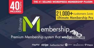 Ultimate Membership Pro WordPress Plugin v9.4.4