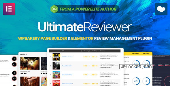 Ultimate Reviewer v2.8.1 – Elementor & WPBakery Page Builder Addon