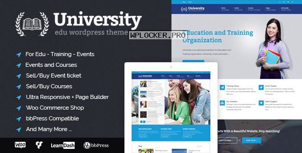 University v2.1.4.2 – Education, Event and Course Theme