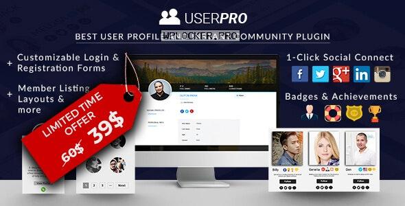 UserPro v4.9.39 – User Profiles with Social Login