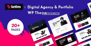 Victim v1.0.6 – Digital Agency & Portfolio WordPress Theme