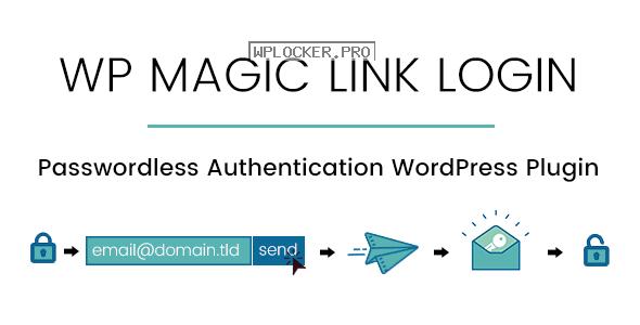 WP Magic Link Login v1.5.7 – Passwordless Authentication WordPress Plugin