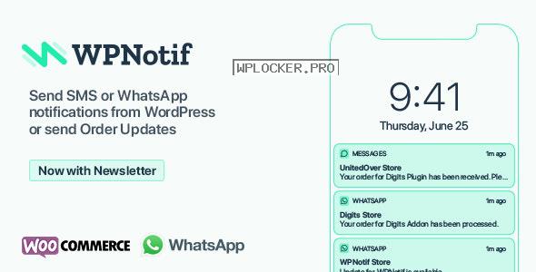 WPNotif v2.2.0.9 – WordPress SMS & WhatsApp Notifications