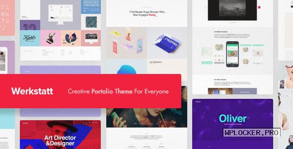 Werkstatt v4.6.3.3 – Creative Portfolio Theme