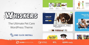 Whiskers v1.0.7 – Pets Store | Vet Clinic | Animal Adoption
