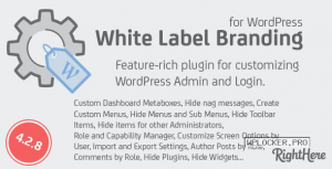 White Label Branding for WordPress v4.2.8