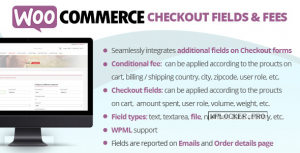 WooCommerce Checkout Fields & Fees v8.0