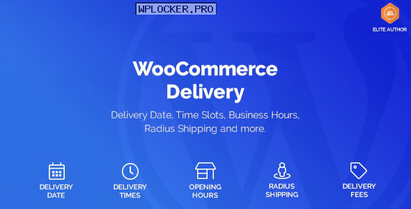 WooCommerce Delivery v1.1.14 – Delivery Date & Time Slots