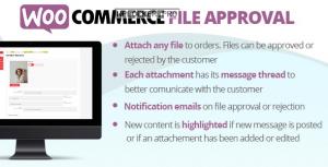 WooCommerce File Approval v1.3.5