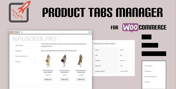 WooCommerce Product Tabs Manager v3.0.2