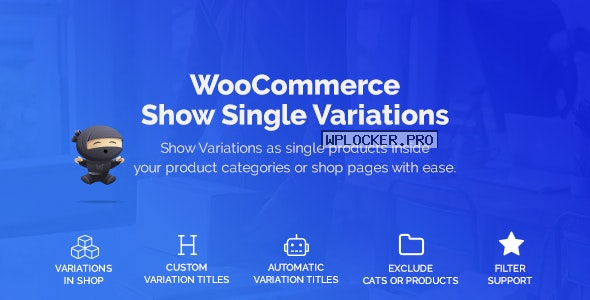WooCommerce Show Variations as Single Products v1.3.9.2