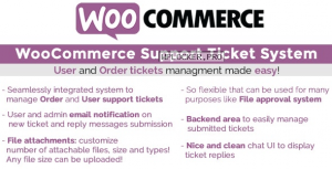 WooCommerce Support Ticket System v1.3.3