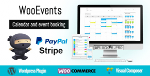 WooEvents v3.6.4 – Calendar and Event Booking