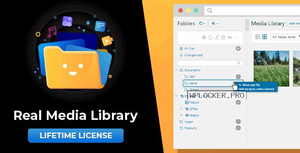 WordPress Real Media Library v4.12.0 – Folder & File Manager for WordPress Media Management
