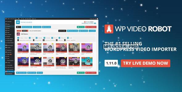 WordPress Video Robot Plugin v1.11.1