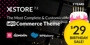 XStore v7.2.4 – Responsive Multi-Purpose WooCommerce WordPress Theme NUL