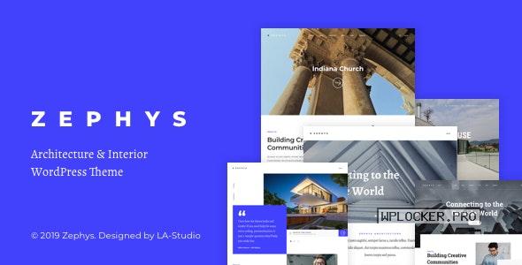 Zephys v1.0.8 – Architecture & Interior WordPress Theme