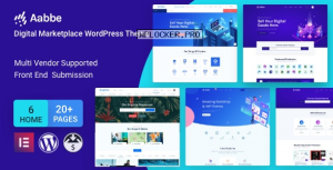 Aabbe v3.3.0 – Digital Marketplace WordPress Theme