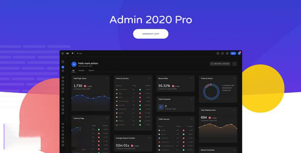 Admin 2020 v2.0.9.3 – Supercharge your WordPress Dashboard
