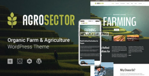 Agrosector v1.4.2 – Agriculture & Organic Food