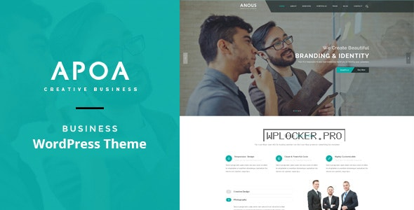 Apoa v1.3.2 – Business WordPress Theme