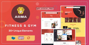 Arima v1.7 – Gym, Boxing WordPress Theme