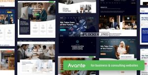Avante v2.3.1 – Business Consulting WordPress