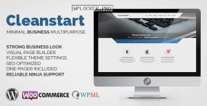 CLEANSTART v2.0 – Clean Multipurpose Business Theme