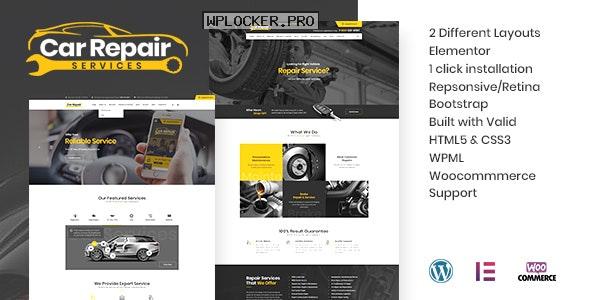 Car Repair Services & Auto Mechanic v3.8 – WordPress Theme + RTL