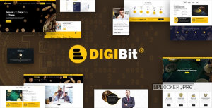 DigiBit v2.0 – Cryptocurrency Mining WordPress Theme