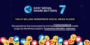 Easy Social Share Buttons for WordPress v7.8