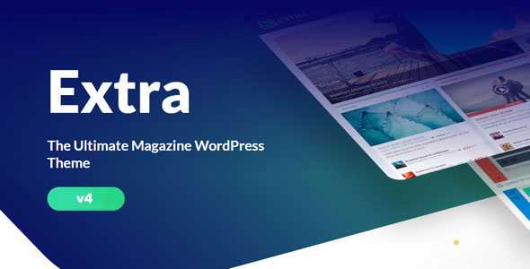 Extra v4.9.9 – Elegantthemes Premium WordPress Theme