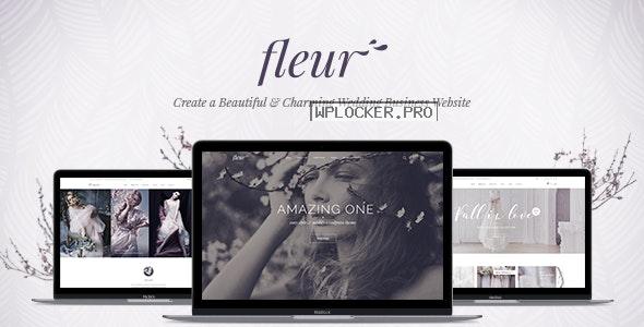 Fleur v2.0 – Wedding Theme