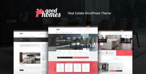 Good Homes v1.3.3 – A Contemporary Real Estate Theme
