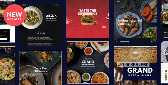 Grand Restaurant v6.0 – Restaurant Cafe Theme