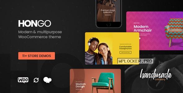 Hongo v2.0 – Modern & Multipurpose WooCommerce WordPress Theme