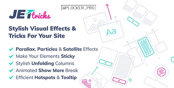 JetTricks v1.3.4 – Visual Effects Addon for Elementor