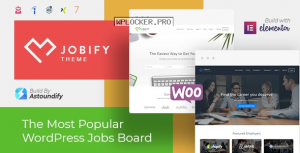 Jobify v3.18.0 – WordPress Job Board Theme