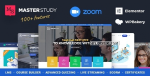 Masterstudy v4.2.2 – Education Center WordPress Theme
