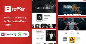 Proffer v1.0 – Fundraising & Charity WordPress Theme