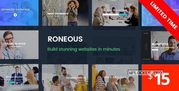 Roneous v1.8.6 – Creative Multi-Purpose WordPress Theme