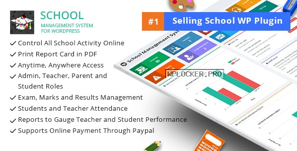 School Management System for WordPress v70.0