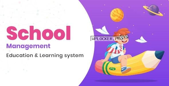 School Management v7.6 – Education & Learning Management system for WordPress