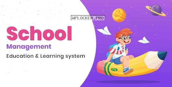 School Management v7.7 – Education & Learning Management system for WordPress