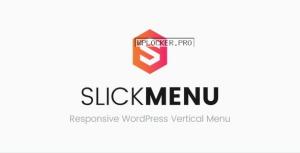 Slick Menu v1.3.3 – Responsive WordPress Vertical Menu