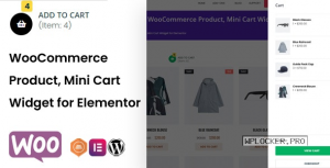 TFMiniCart & Product v1.0.0 – WooCommerce Product, Mini Cart Widget for Elementor