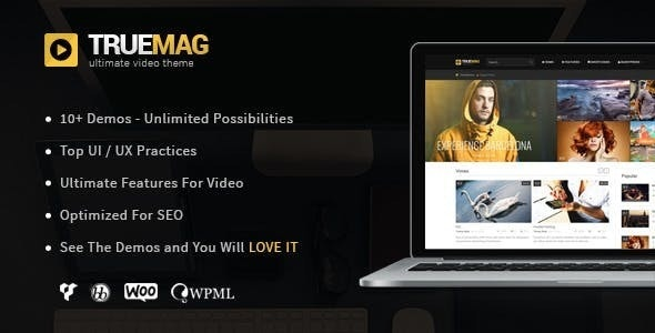 True Mag v4.3.6 – WordPress Theme for Video and Magazine