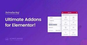 Ultimate Addons for Elementor v1.29.1