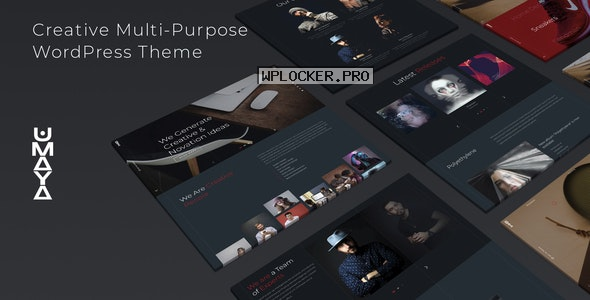 Umaya v1.0 – Creative Portfolio Agency WordPress Theme
